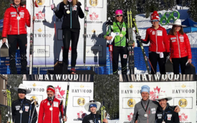 Cowboy hats aplenty on Whistler podium