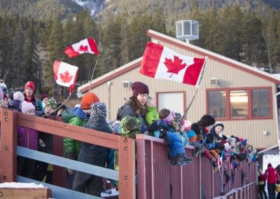 Canada Flag school kids_pamdoyle w