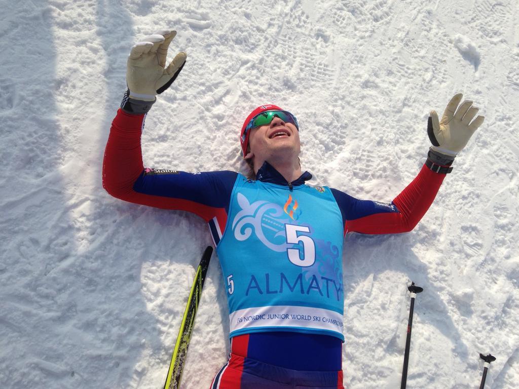 Fredrik Riseth (NOR) JWSC champion classic sprint