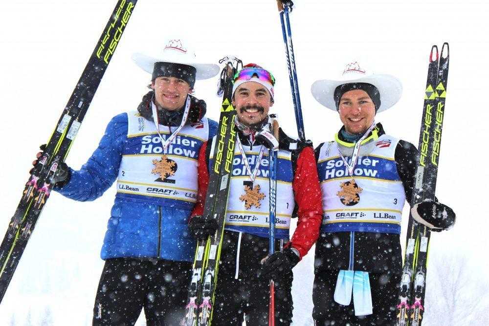 Julien Locke, Jess Cockney and Knute Jonnsgaard Photo Credit: www.fasterskier.com