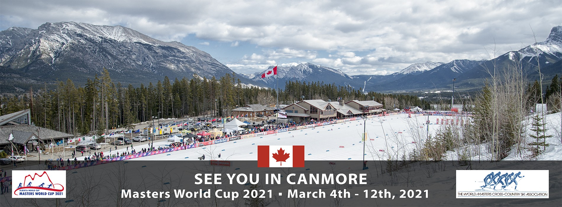 Masters World Cup Skiing 2021 Canmore Alberta