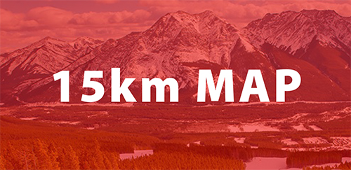 Alberta World Cup 2022 15km map