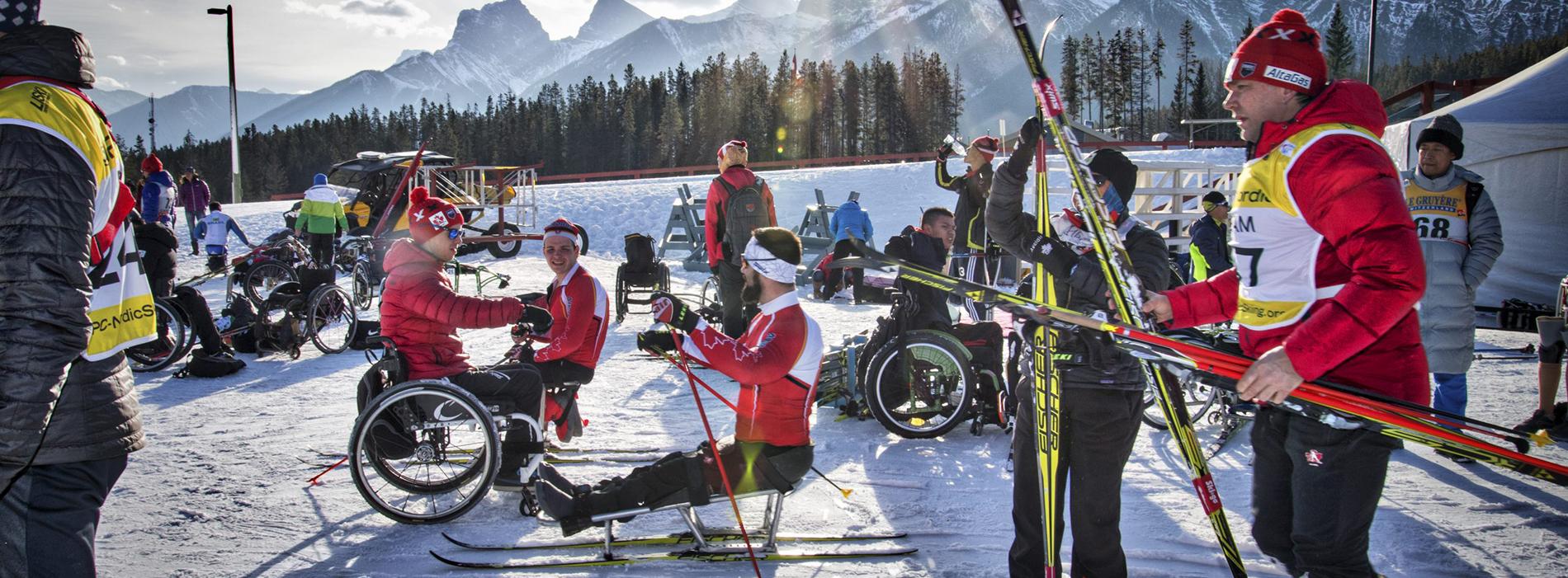 World Para Nordic Skiing World Cup Canmore Alberta Canada